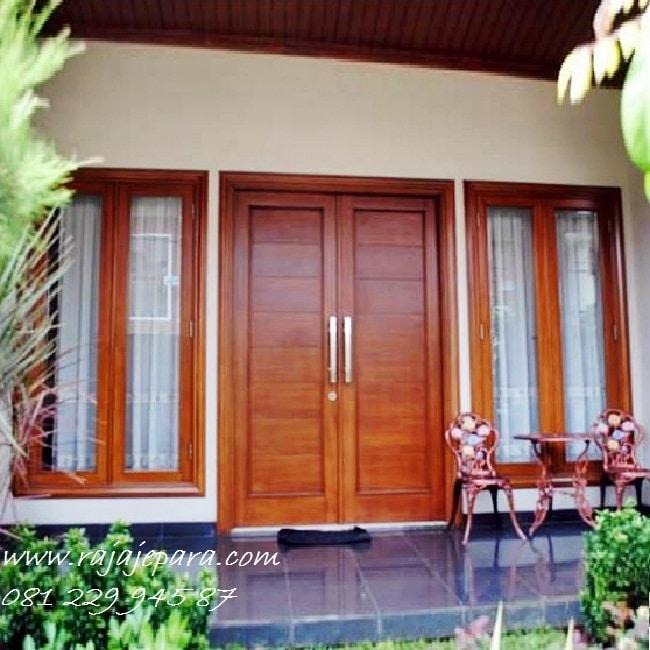 Harga Pintu Rumah Minimalis Modern Rajajepara Com