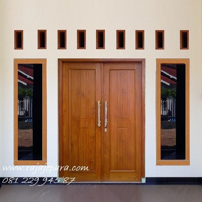 Model Pintu Rumah Minimalis 2 Pintu Terbaru 2020 Rajajepara Com
