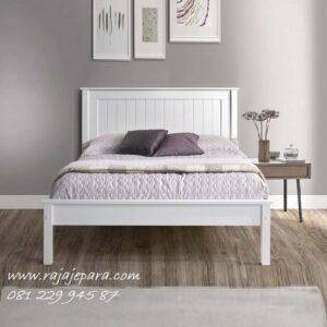 Tempat tidur minimalis putih kayu mahoni warna terbaru model desain set kamar modern dan klasik untuk pengantin dewasa harga murah