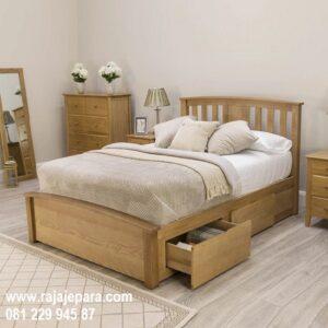 Tempat tidur anak jati Jepara minimalis mewah modern dan klasik terbaru model desain kayu untuk perempuan dan laki-laki dengan harga murah