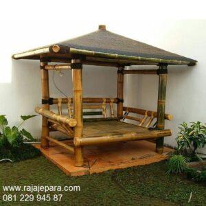 Gazebo-Bambu-Unik