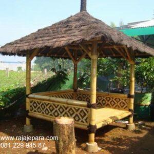 Gazebo-Dari-Bambu