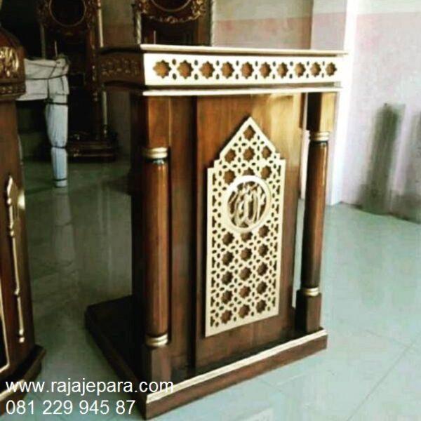 Mimbar-Masjid-Minimalis-Sederhana