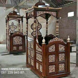 Model-Mimbar-Masjid