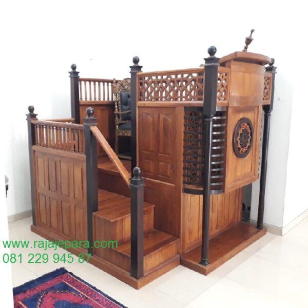 Mimbar-Masjid-Minimalis-Kayu-Jati (1)