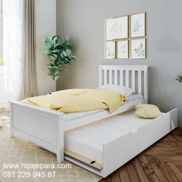 Tempat-Tidur-Sliding-Putih